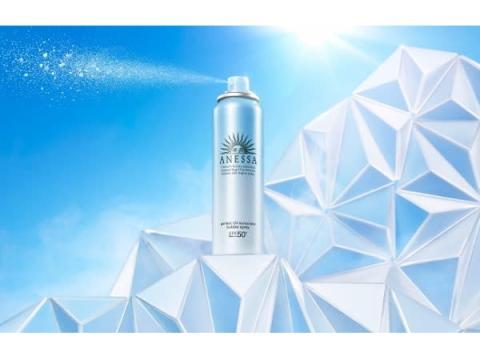 資生堂「アネッサ」にひんやり爽快クールタイプの強力UV泡スプレーが登場