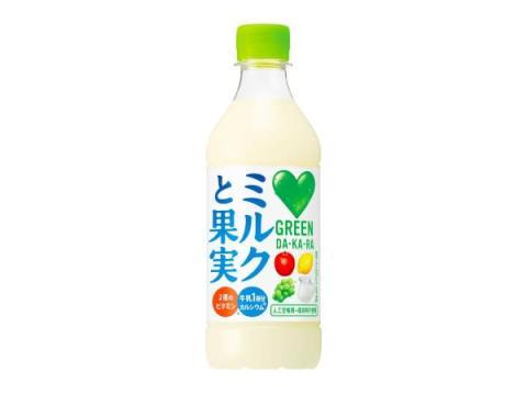 やさしい味わいでゴクゴク栄養補給!「GREEN DA・KA・RA ミルクと果実」新登場