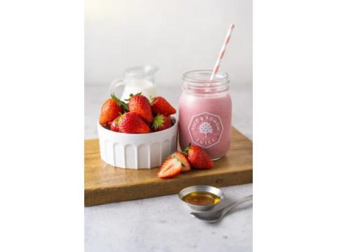 1日5食限定!東京産イチゴを贅沢に使った「東京イチゴミルクプレミアム」登場