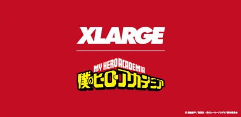 XLARGEが『僕のヒーローアカデミア』とのコラボレーションを発表 【アニメニュース】