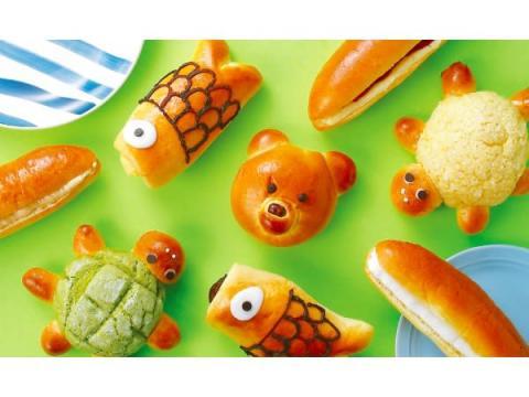 「クイーンズベーカリー」の甘くてかわいい「こどもの日フェア」限定パン