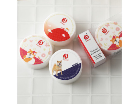 「柴犬まる」×「まかないコスメ」!キュートなハンドクリームが好評発売中