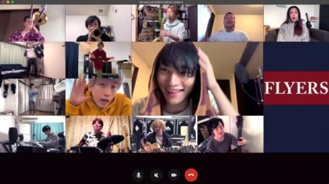 SKY-HI、「#Homesession with THE SUPER FLYERS」公開 宅録で完成させる