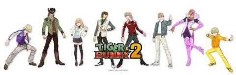 アニメ『TIGER & BUNNY 2』2022年スタート!新たにメインキャラ6人のビジュアルも&#2084