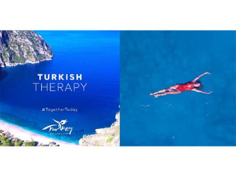 """自然の""""ブルー""""でストレス緩和!トルコ共和国大使館が癒しの動画を公開"""