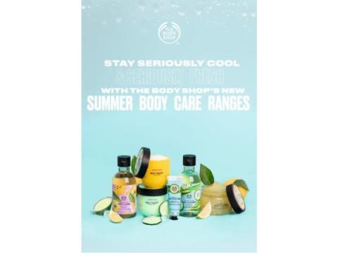 レモン&キューカンバー香る「ザ・ボディショップ」の新商品で夏肌をケア!