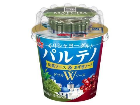 """和の味わい!パルテノから""""抹茶&あずき""""Wソース仕立ての新商品が登場"""