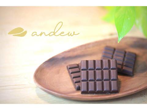 """世界初!現役医学生が開発した""""完全食チョコレート""""「andew」新発売"""