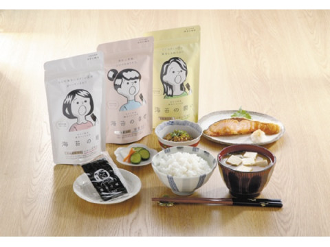 """""""栄養機能食品""""の味付海苔に新ラインアップ追加!「磯屋」オンライン発売"""