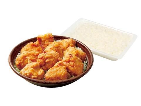 ボリューム満点!薩摩錦ちきんの唐揚げが10個入った「10唐っと弁当」