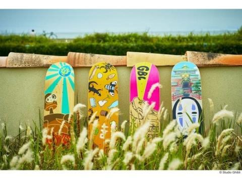 インテリアにも◎!ジブリデザインが可愛い本格派「スケートボード」