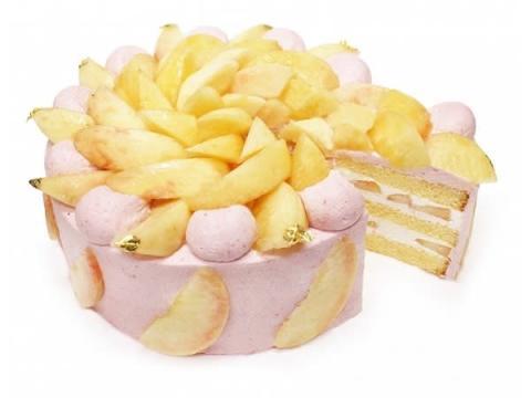 日本の桃をたっぷり使用!カフェコムサのケーキフェア「桃源郷物語」第2弾