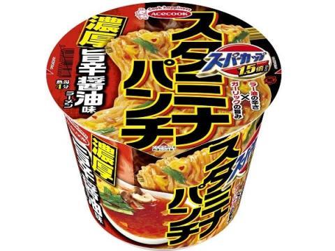夏に食べたいスタミナ系!濃厚旨辛醤油スープと6種の具材のスーパーカップ