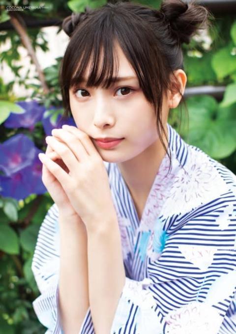 """NMB48新エース・梅山恋和と""""夏祭りデート"""" 期待の16歳が『BUBKA』カバー飾る"""