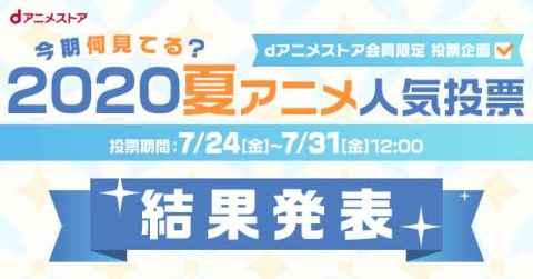 「リゼロ2期」堂々1位!2020夏アニメ『今期何見てる?』投票結果発表 【アニメニュース】