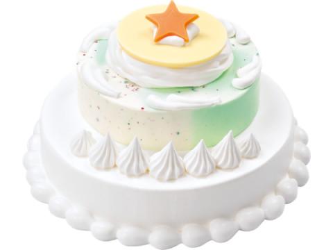 サーティワンのトップスター「ポッピングシャワー」が主役のアイスケーキ!
