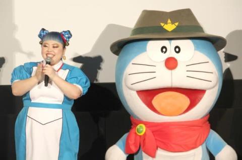 渡辺直美が弘中アナに注意 ドラえもん体型指摘に「ハッキリ言いましたね!」