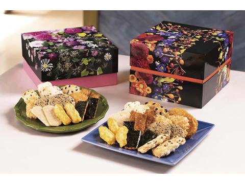 敬老の日においしい米菓を送ろう!「新潟味のれん本舗」の秋限定商品