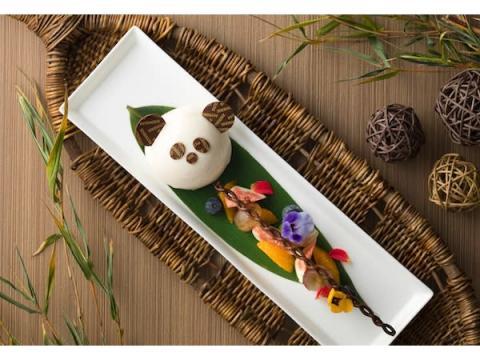 南紀白浜マリオットホテルに可愛いパンダのケーキ&ドリンクのセットが登場