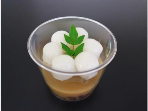 約10億個のくず餅乳酸菌が入った「笠間栗の白玉しるこプレミアム」発売!