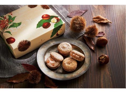 秋のスイーツを先取り!栗×メープル「栗のクリームサンド」限定発売