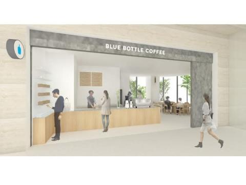 東京ポートシティ竹芝オフィスタワーに「ブルーボトルコーヒー」がOPEN!