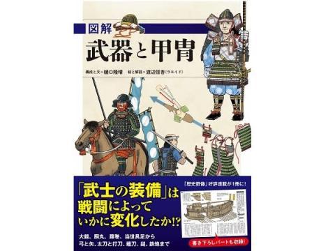 大河ドラマファン・歴史小説ファン必携!「武器と甲冑」の歴史がわかる本
