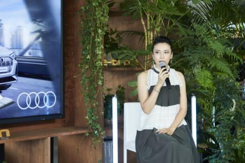 柴咲コウ『エール』舞台の福島県で「Audi」の映像撮影「感動的な風景を見させていただきました」
