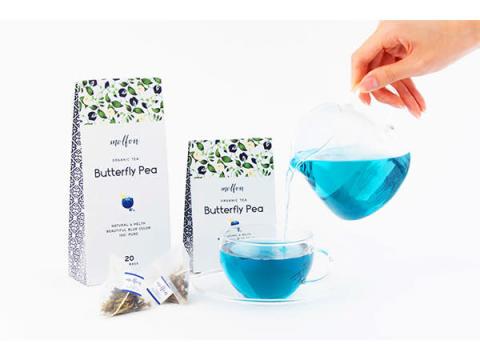 青いお茶「バタフライピー」のティーバッグが当たる!キャンペーン開催中