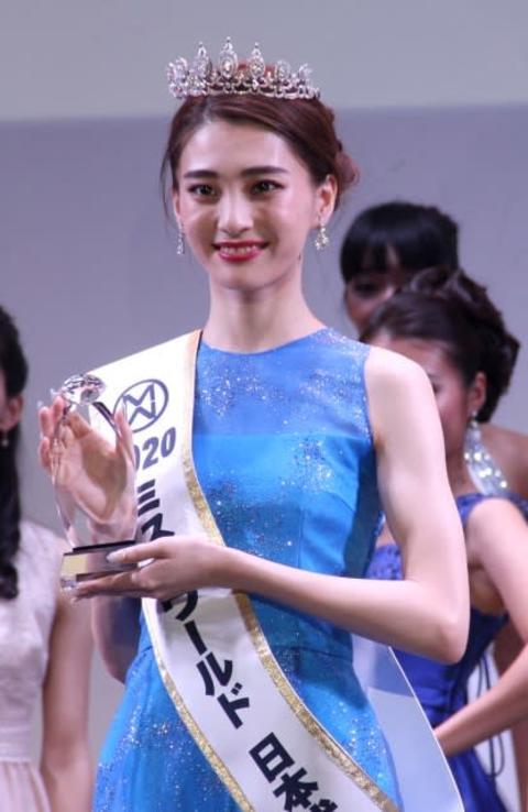 『ミス・ワールド2020』日本代表に金谷鞠杏さん 秋田県出身の18歳、GENICメンバー