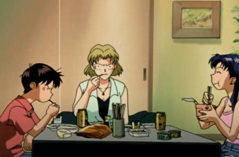 TV版エヴァに登場する食べ物に注目してみました!