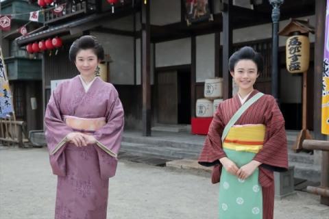 朝ドラ『おちょやん』篠原涼子、トータス松本、成田凌の現場写真公開