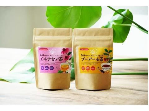 """やさしいハーブをブレンドした""""エキナセア茶""""&""""プーアール茶""""が新発売"""