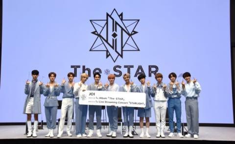 JO1、1stアルバム『The STAR』11・25発売 初のオンラインライブも12月に開催決定 公式ペンライトも完成