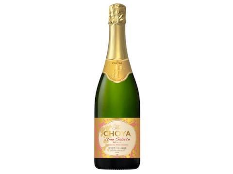 チョーヤから発泡性ワイン梅酒「The CHOYA Ume Salute」が登場!