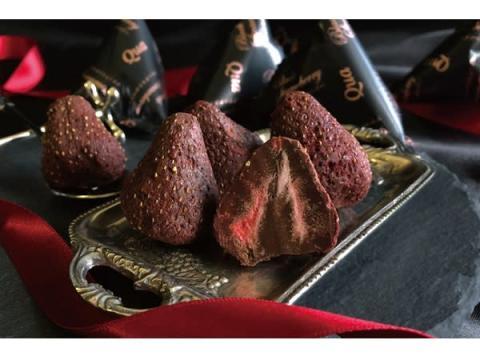 季節限定!染み込みチョコスイーツ専門店から「ブラックストロベリー」登場