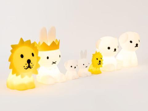 ミッフィーのインテリア照明で毎日を楽しく!新作が日本でも発売開始