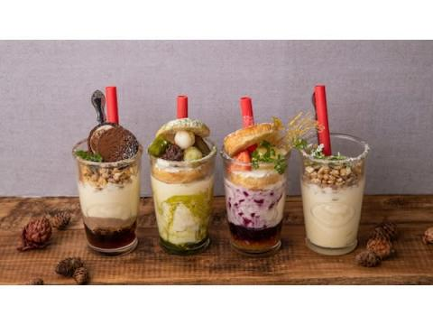 """「#702 CAFE&DINER なんばパークス店」に""""飲めるチーズケーキ""""が登場!"""