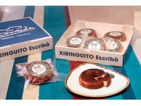 「XIRINGUITO Escribà」のバスク風チーズケーキがテイクアウト&EC販売開始