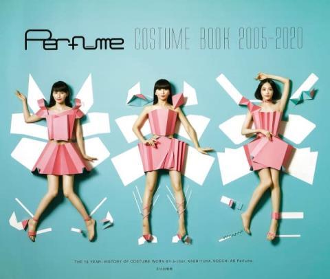 Perfume初の衣装本が発売前重版 デザインコンセプト&裏表紙公開