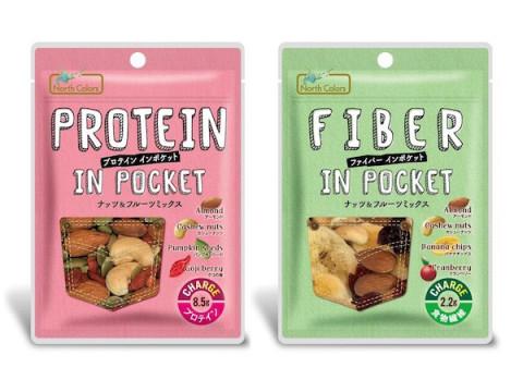 不足しがちなたんぱく質・食物繊維を手軽に摂れる「インポケット」シリーズ