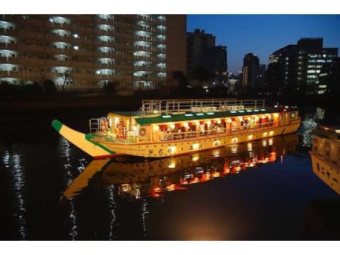 品川の屋形船にお得に乗れる「ENJOYしながわ屋形船キャンペーン」スタート