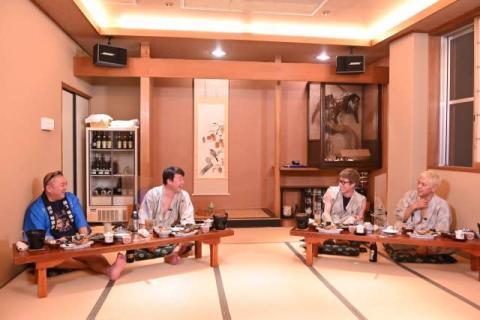 極楽とんぼ&ロンブーが旅館で本音トーク 加藤浩次が直球で迫る「淳は最終的には選挙に出る?」
