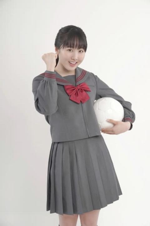 本田望結、高校サッカー応援マネは「父と私の夢」 16代目就任に感慨