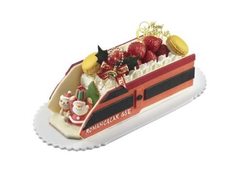 ロマンスカーモチーフも!小田急百貨店限定クリスマスケーキ予約受付中