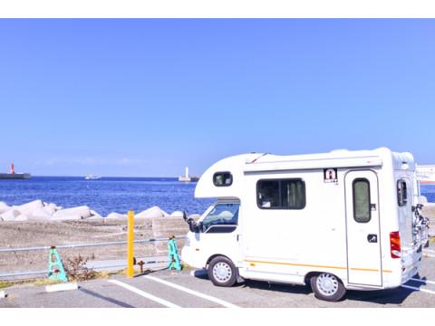 富士山を望む!城ケ島に関東最大級のキャンピングカー車中泊スポットがOPEN