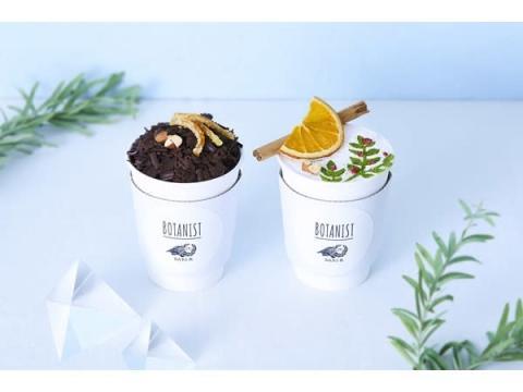「BOTANIST Cafe」に「Dari K」とのコラボチョコレートドリンクが登場