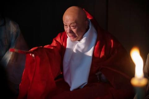"""【麒麟がくる】春風亭小朝、""""魔物""""覚恕役で初登場 初体験づくしで「ワクワクした」"""