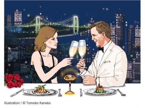 """""""ジェームズ・ボンド""""の世界観を体験できるディナーやカクテルが登場!"""