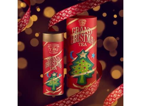 """「TWG Tea」から豪華なボックスに包まれた""""クリスマスティー""""が新発売"""